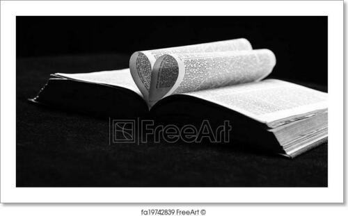 The Bible The Book Of Love G Art Print Home Decor Wall Art Poster