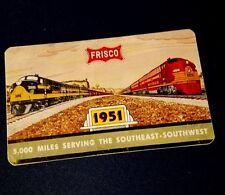 1963Frisco Railroad Wallet Calendar *406