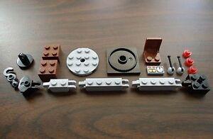 NEW-LEGO-CRANE-PARTS-LOT-Construction-Towing-Tow-Hook-City-Train-Cargo-etc
