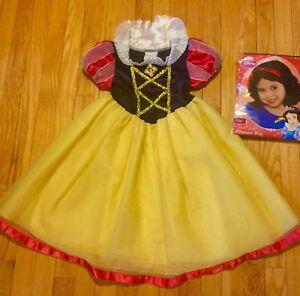 Original Disney Store Snow White Girl Halloween Costume ...  Original Snow White Costume