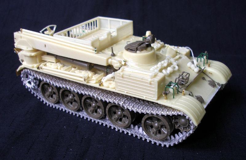 VT-55A Recovery tank 1 35 PanzerShop PS35254-NF Tamiya T-55 conversion set