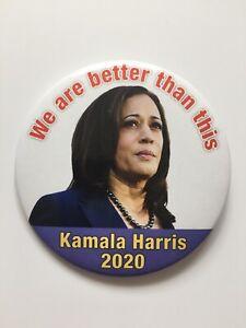 2020-Senator-Kamala-Harris-President-3-034-Button-034-We-are-better-than-this-034-Pin
