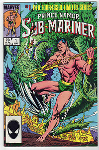SUB-MARINER-1980s-LOT-8-Namor-Saga-Marvel-Rich-Buckler-Ltd-Series-FN-VF-NM