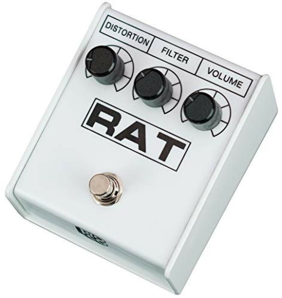 Pro-co RAT 2 RAT-II Weiß IKEBE Distortion pedals ORIGINAL MODEL