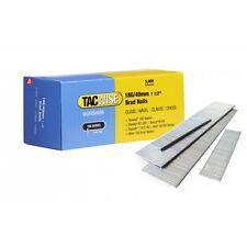 Tacwise 0400 18g 40mm ACCIAIO ZINCATO BRAD CHIODI 5000 per dgn50v, r18n18g-0 NUOVO