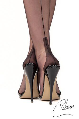 Straps Calze Cucitura Vera calze cucitura protestava Nylon Calze Cuban Heel,