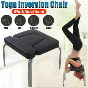 comfortable yoga headstand chair fitness inversion bench