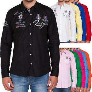 Camisa-tiempo-libre-camisa-regular-fit-manga-larga-bordadas-Redbridge-by-Cipo-amp-Baxx