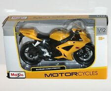 Maisto - SUZUKI GSX-R600 (Yellow) - Motorcycle Model Scale 1:12