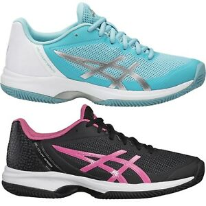 Hellblau Asics Damen Schwarz Speed Zu Court Details Clay Outdoor E851n Gel Tennisschuhe HeWIb29EYD