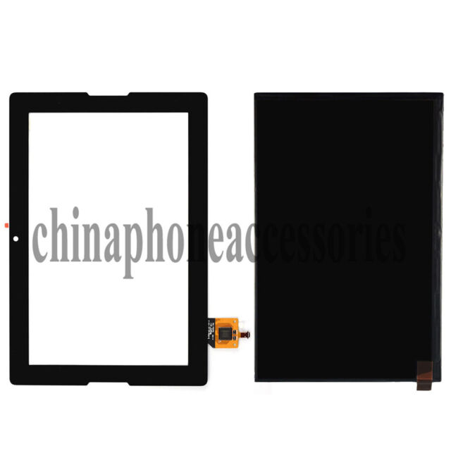 Black for Lenovo A10-70 A7600 Tablet LCD Display + Touch Screen Digitizer Glass