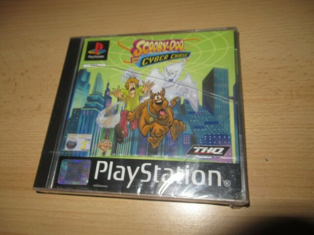 Scooby Doo And The Cyber Chase PS1 Playstation 1 new sealed pal version