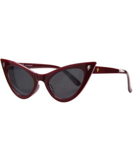 5229 Caripe Donna 50er 60er Retro Cat Eye Vintage Rockabilly Occhiali da sole