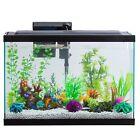 29 Gallon Aquarium Starter Kit Fish Tank by Aqua Culture With LED Lighted Hood