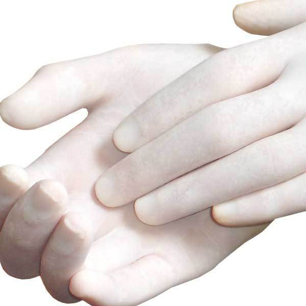New Fortuna Latex Gloves Pack/100 Powder Free. Small, Medium & Large. FT-485/6/7