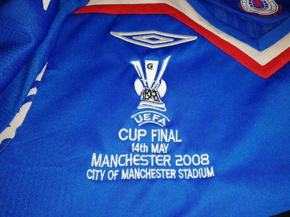 Fodboldtrøje, Rangers FC Barry Ferguson finale trøje,