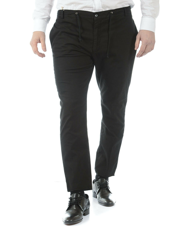 Pantaloni Daniele Daniele Daniele Alessandrini Jeans Trouser Cotone Uomo Nero P34203702 1 1dc41a