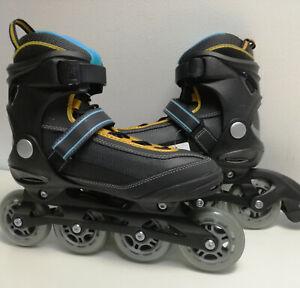 Gelegenheit-Damen-Sports-Inliner-ALU-84-mm-Inline-Skates-Softboot-41-9097