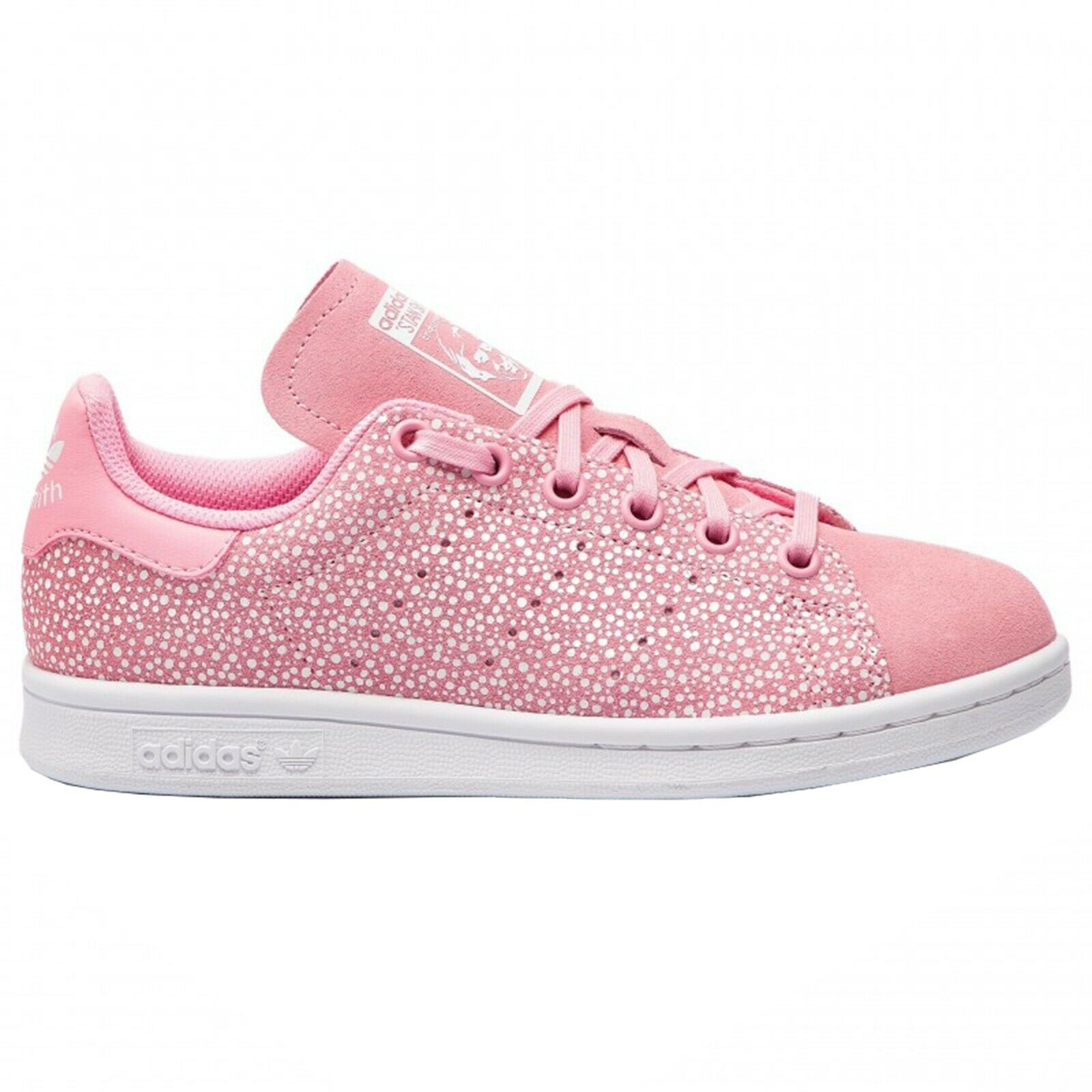 Sneakers ADIDAS STAN SMITH J PINK Women's shoes Girl DB2869