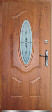 Porta Portone blindato pantografato con vetro