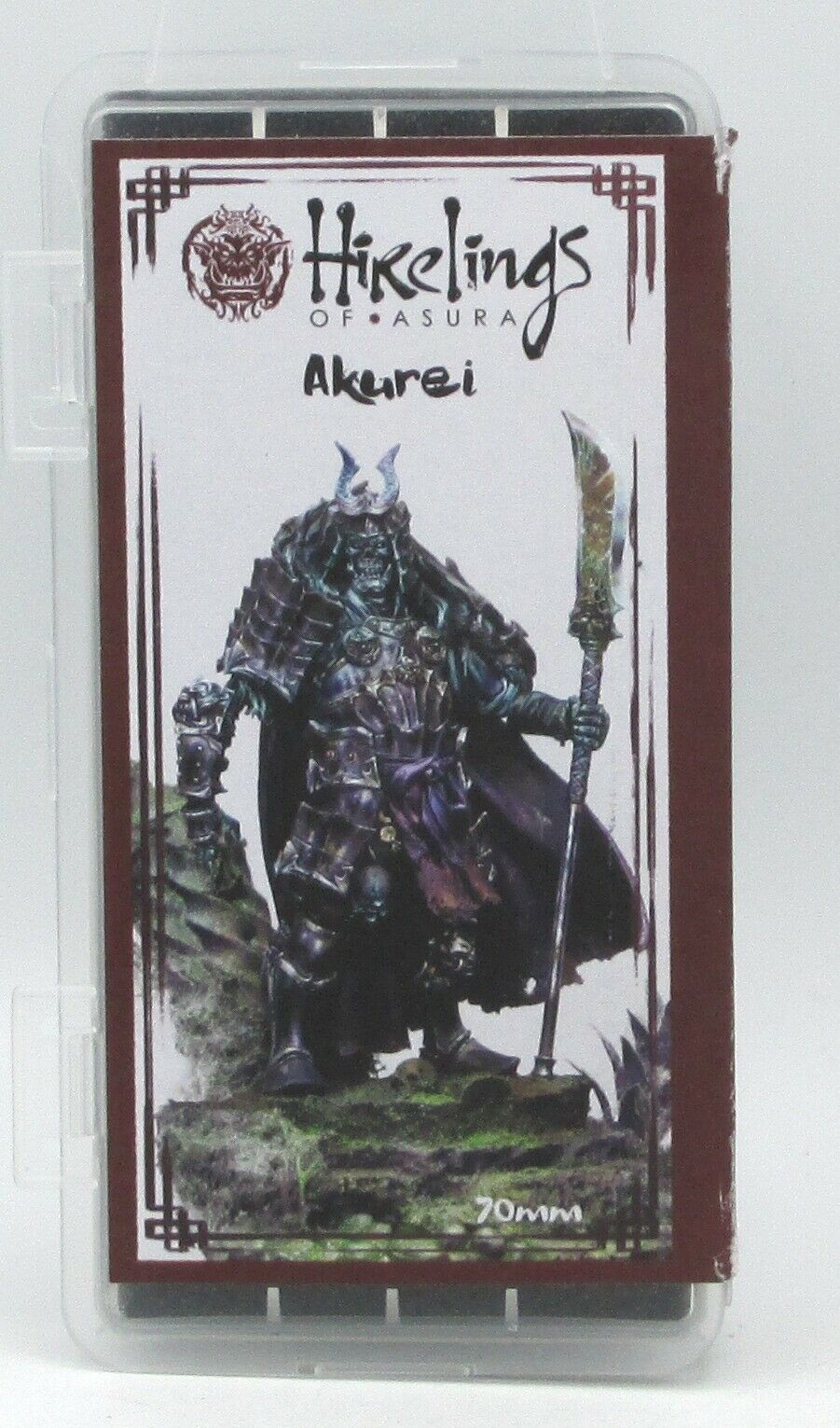 Hirelings of Asura HA4 Akurei Undead Orc (70mm) Oriental Skeleton Warrior Hero