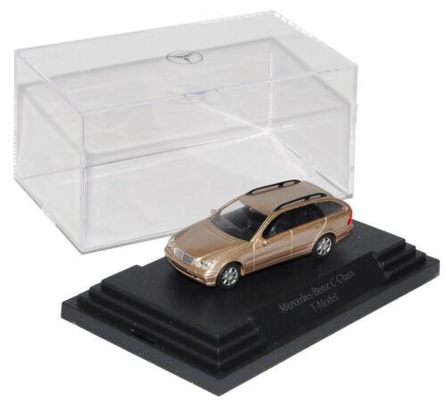 Mercedes-Benz Clase C w203 T-modelo combi beige 2000-2007 h0 1//87 busch Model...