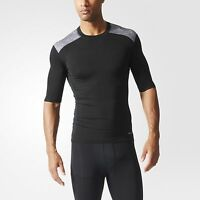 Adidas Techfit Base Mens Tee (Black)