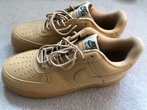 Nike Air Force 1, Tan, Brand New. US 8