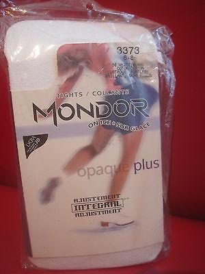 Mondor footless opaque plus tights 3373 Suntan