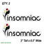2-TWO-INSOMNIAC-Vinyl-Decal-Sticker-For-Car-Laptop-Skateboard-NEW-EDM-MUSIC thumbnail 3