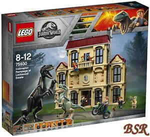 Lego® Jurassic World ™ 75930 Indoraptor Dévastation D Lockwood Estate 0.- € Ver.