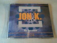 JON K - NO SURRENDER - RARE 2000 HOUSE/ITALODANCE CD SINGLE