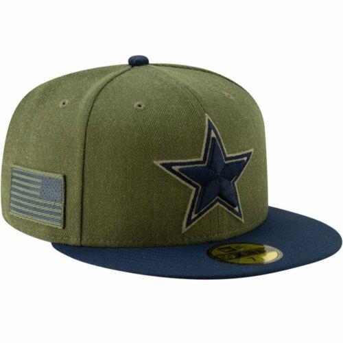New Era 59Fifty Cap Salute to Service Dallas Cowboys