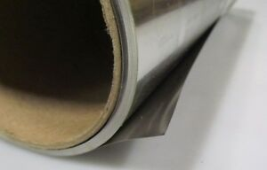 ".002/"" +//-.0002/"" 304 Stainless Steel Sheet Shim x 12.0/"" x 100 Foot Length"