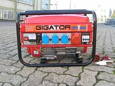 Stromerzeuger Stromgenerator Generator Notstromaggregat Camping Benzin Gigator