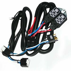 Hella Universal H4 Headlamp Wiring Harness With Relay System 130/100W S2u