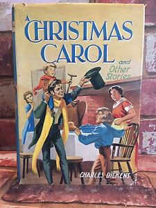 A Christmas Carol Book Cover.Details About A Christmas Carol Other Stories Charles Dickens Dean Son Ltd