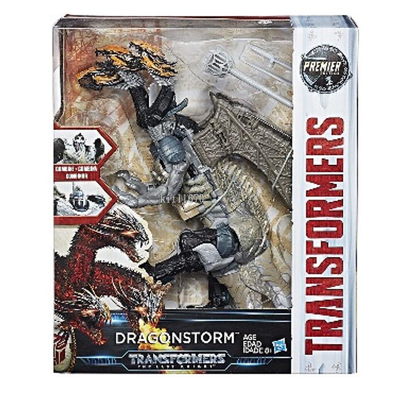 Hasbro Transformers Last Knight Premier Edition Leader Class Dragonstorm NEW UK