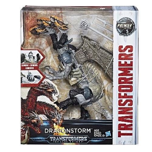 100/% Hasbro Transformers Last Knight Premier Edition Leader Dragonstorm NEW