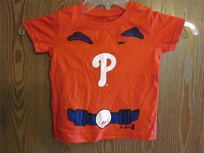 Ehrlich New-no-back-flaws Philadelphia Phillies Kleinkind 2t Home Run Hero Hemd 36mr Zur Verbesserung Der Durchblutung Fanartikel