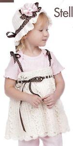 SWEET Baby Dresses in Crochet//4 Dresses//Crochet Pattern INSTRUCTIONS ONLY