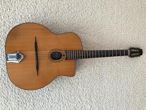 Jean-Pierre Favino – original Gypsy Django guitar 1983 / Selmer Maccaferri