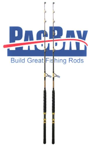 Xcaliber Marine Pair of Tournament Series 30-50lb Trolling Rod red and gold