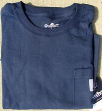 CARHARTT 100/% Cotton T-Shirt,Navy,L K87-NVY LRG REG Navy
