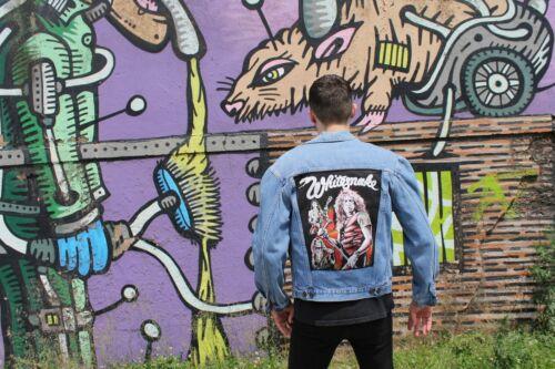 Whitesnake Denim Jacket