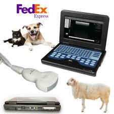 Veterinary Portable Ultrasound Scanner 35mhz Convex Probe Medical Laptop Device