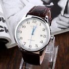 WINNER Men's Automatic Mechanical Leather Stainless Steel Wrist Watch Watches
