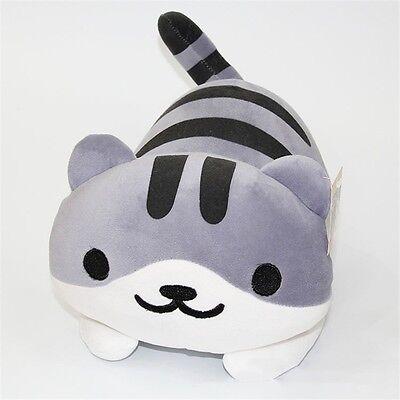 "14"" Game Neko Atsume ねこあつめ Kitty Collector Pickles Plush Toys Stuffed Doll"