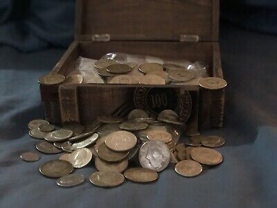 SALE $19.00 Quarters Dimes US 90/% JUNK SILVER Coin ALL  Circulated ONE 1