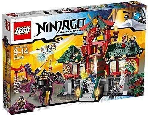 B-Ware LEGO® Ninjago 70728 Ninjago City NEU NEW OVP